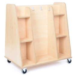 Mobile Double Sided Shelving & Role Play Unit