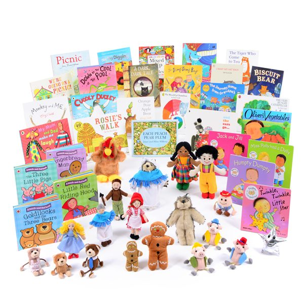 Book & Puppet Resource Collection 3-4yrs Books & Puppets Resource Collection 3-4yrs