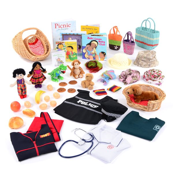 Role Play Real Life Resource Collection 3-4yrs