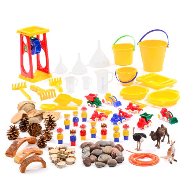 Dry Sand Resource Collection 3-4yrs