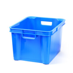 Blue 7.5ltr Plastic Box