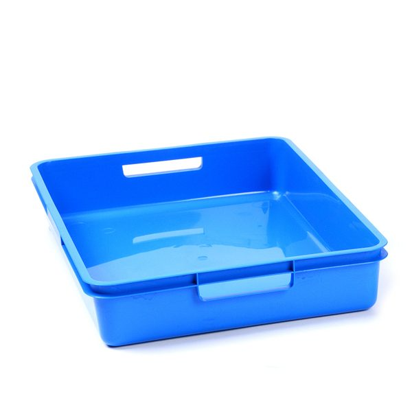 Bright Blue A4 Plastic Tray