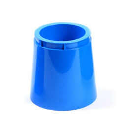 Blue Tall Plastic Pot