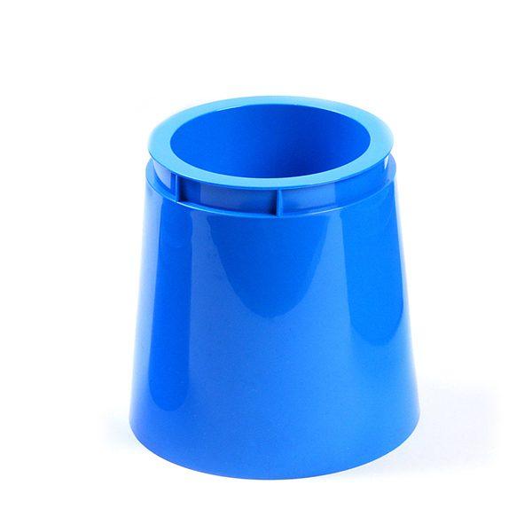Blue Tall Plastic Pot