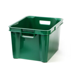 Dark Green 7.5ltr Plastic Box
