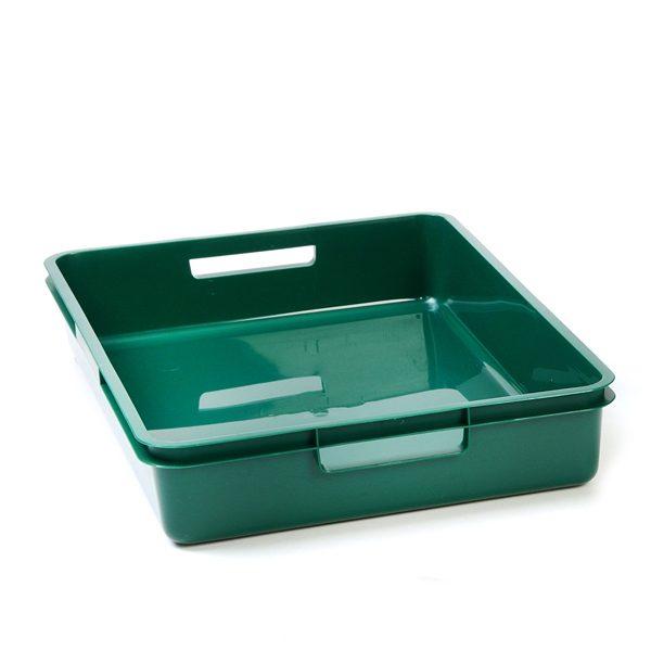 Dark Green A4 Plastic Tray