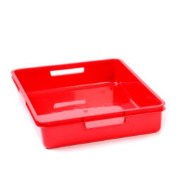 Red A4 Plastic Tray