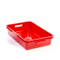 Red A5 Plastic Tray