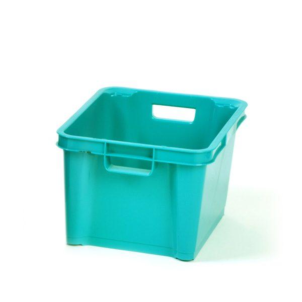 Turquoise 1.5ltr Plastic Box