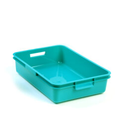Turquoise A5 Plastic Tray