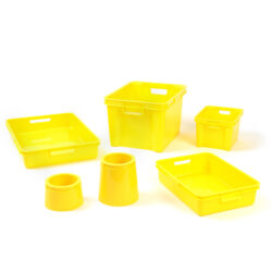 Plastic Boxes, Trays & Pots