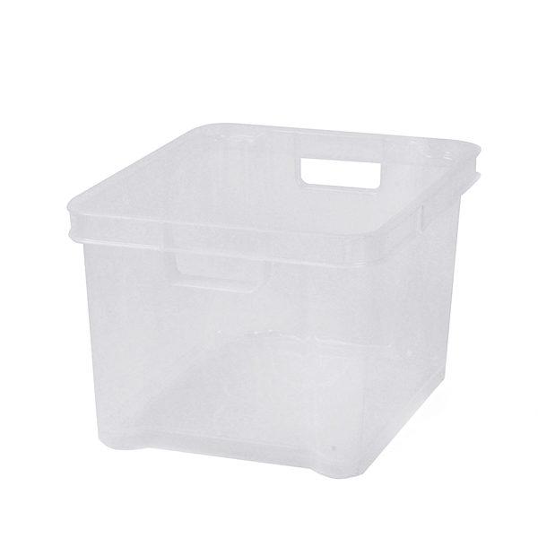 Transparent 7.5ltr Plastic Box