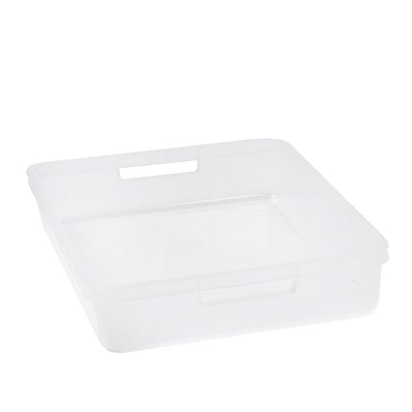 Transparent A4 Plastic Tray Clear Organiser