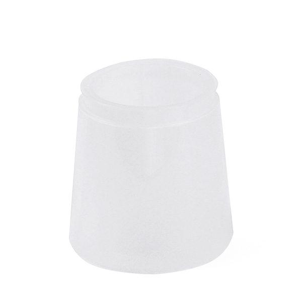 Transparent Tall Plastic Pot Clear