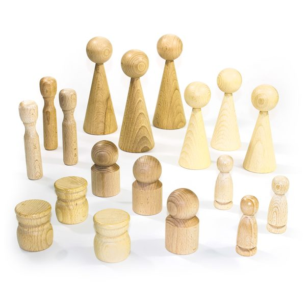 Collection of Wooden Figures
