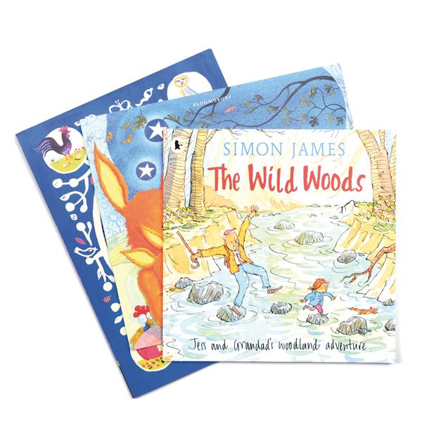 British Wildlife Story Book Set 1