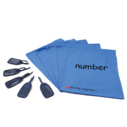 Set of Number Bags