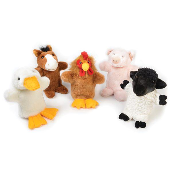 Farm Hand Puppet Set