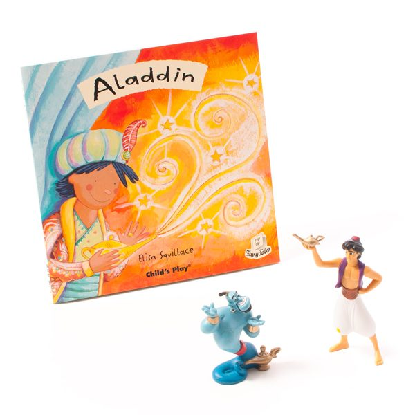 Aladdin Characters & Book Set