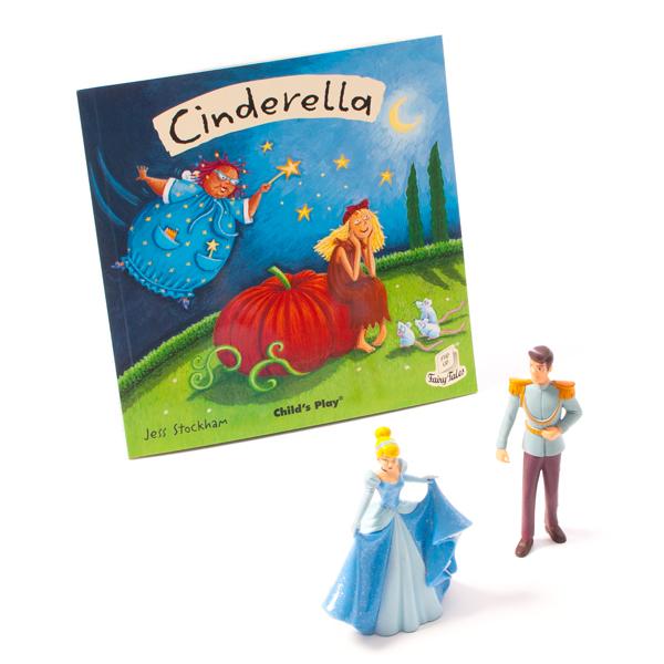 Cinderella Characters & Book Set  1