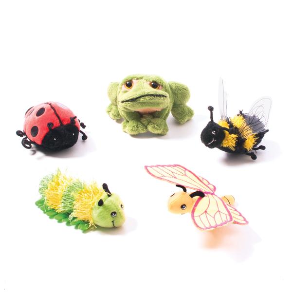 Spring Creatures Finger Puppet Set  1