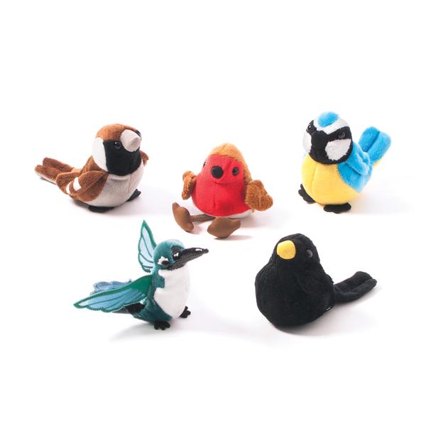 Birds Finger Puppet Set 1