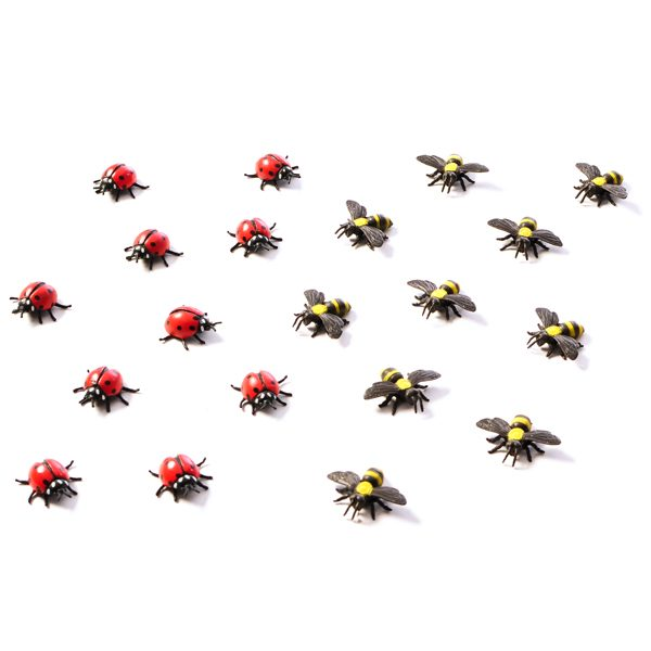 Ladybirds & Bumble Bees Set
