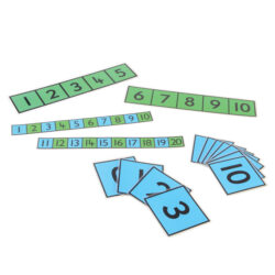 Number Lines & Cards Set