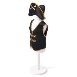 Pirate Captain Waistcoat and Hat