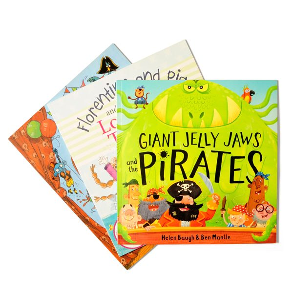 Pirate Story Book Set