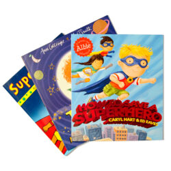 Superhero Story Book Set