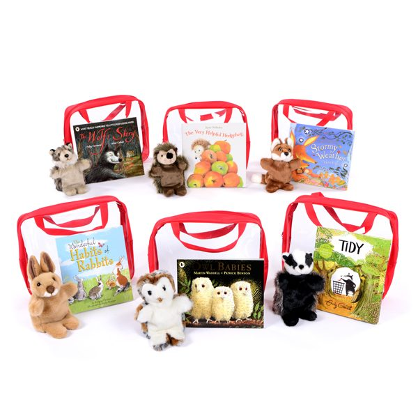 Woodland Animals Collection 3-6yrs storytelling bedtime reading parent and child books and puppets