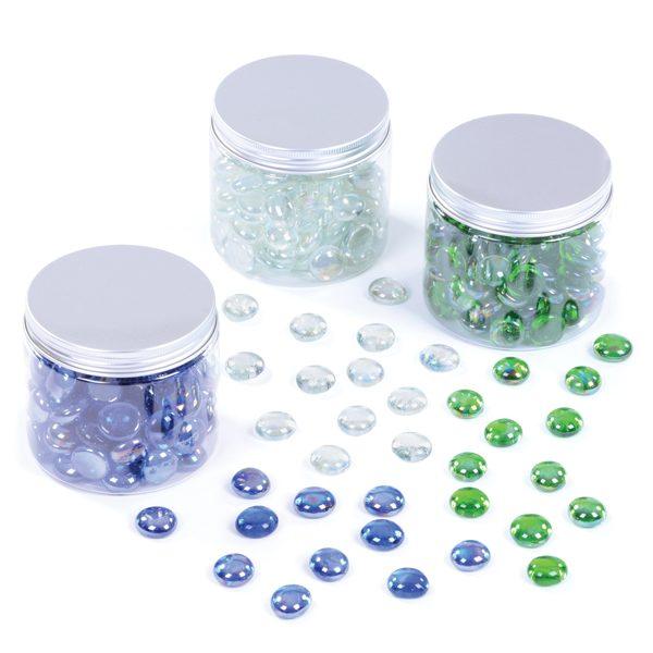 Glass Nuggets Set