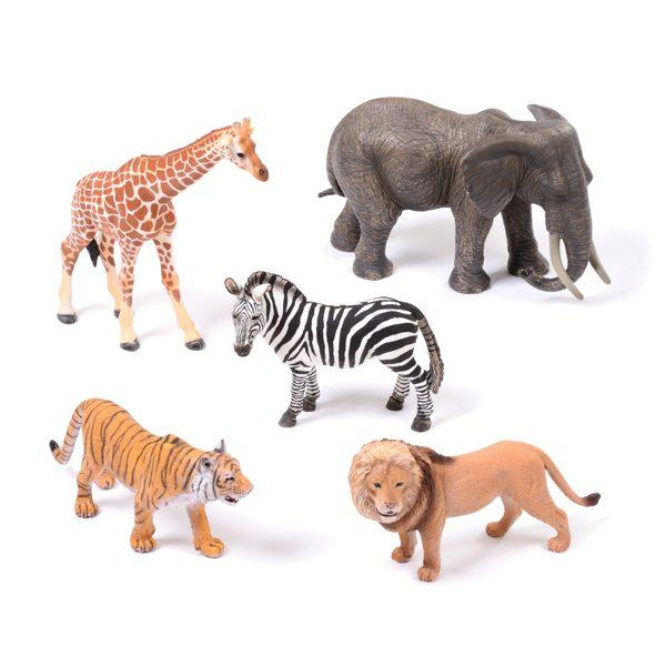 set of Wild Animals EYFS
