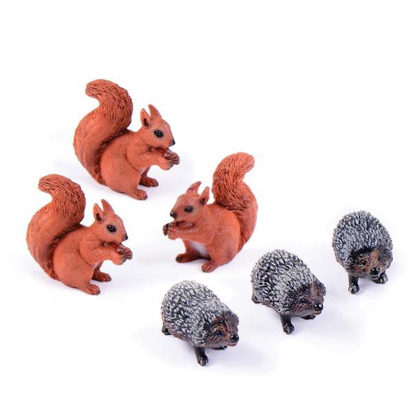 Squirrels & Hedgehogs Set