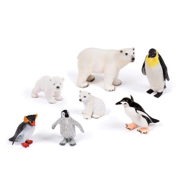 Polar Animal Set EYFS