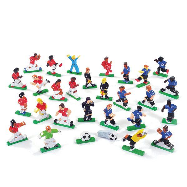 Wooden Football Set