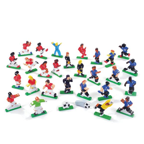 Wooden Football Set  1