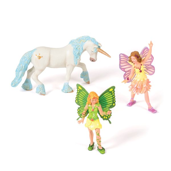 Set of Fairies & Unicorn