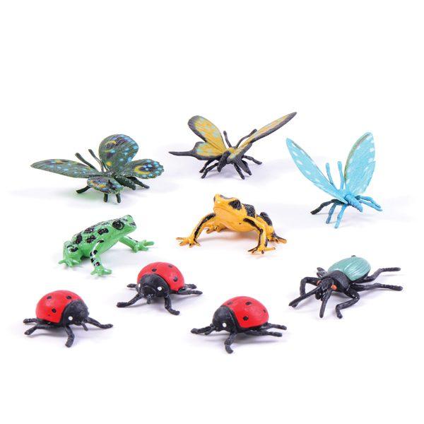Set of Garden Creatures