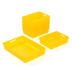 Dough Storage Collection Pack 2-3yrs EYFS Early Years Dough Play plastic trays for holding resources