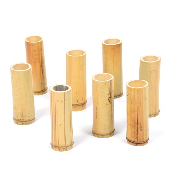 Set of Bamboo Columns