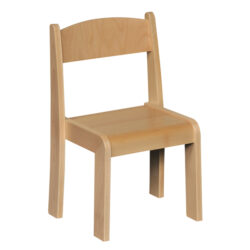 natural stackable chair wooden classroom seating