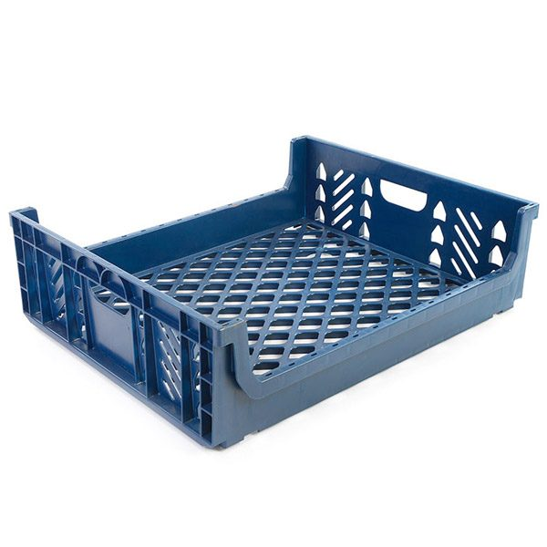 Dark Blue Play Crate