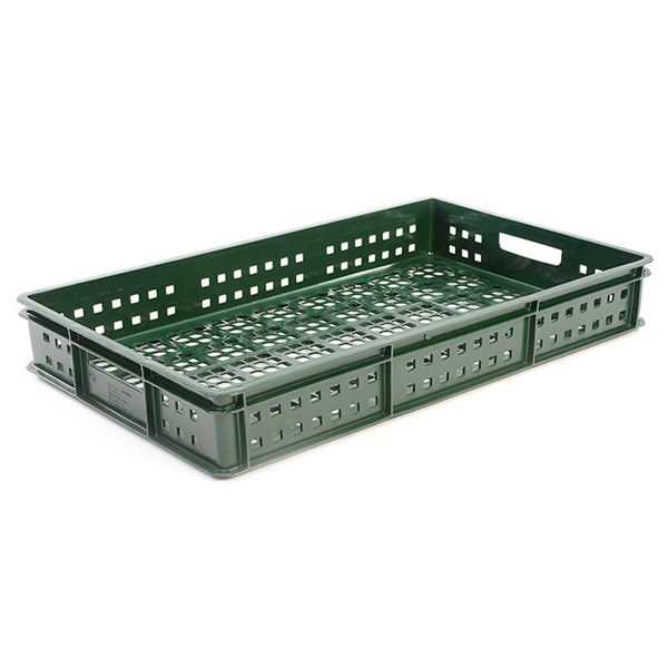 Dark Green Play Crate