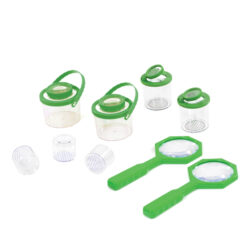 Set of Bug Jars and Magnifiers for outdoor learning
