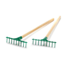 Set of Garden Rakes