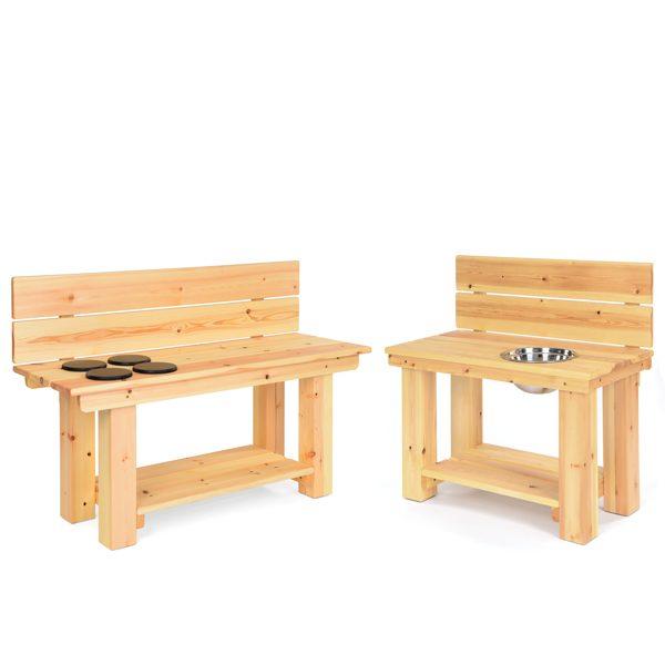Set of 2 Mud Kitchen Benches