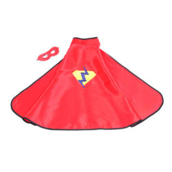 Red Superhero Cape & Mask