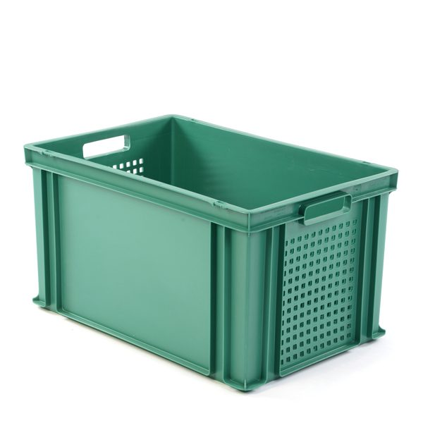 Green containers medium and large storage boxes